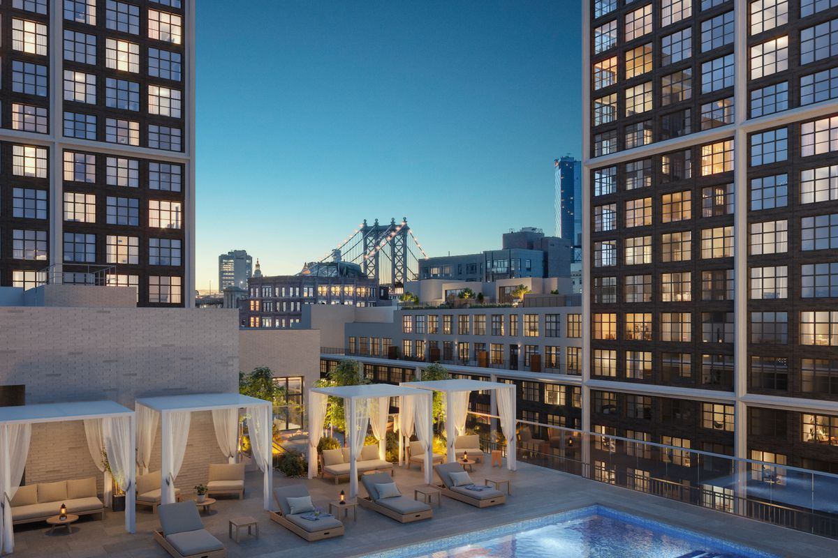 CIM Group Tops Out 21-Story Urban Mixed-Use Luxury Residential Development in Brooklyn's Popular DUMBO Neighborhood