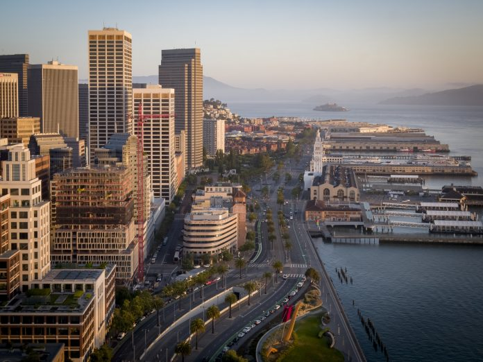 Ultra-Luxury Waterfront Condominium Tower in San Francisco's Famed Embarcadero Area Celebrates Official Topping Off