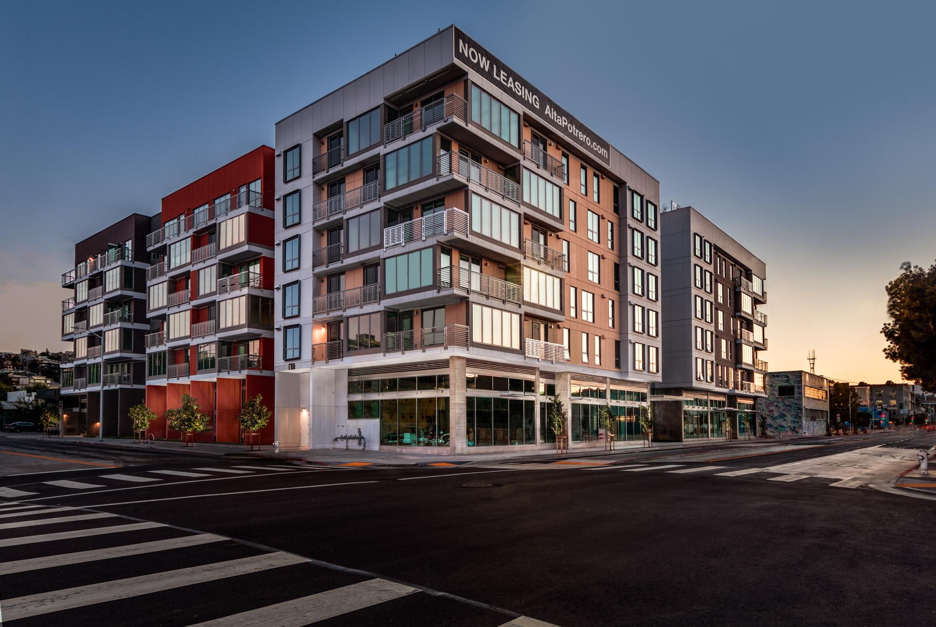 Wood Partners Announces Grand Opening of 172-Unit Alta Potrero Luxury Apartment Community in San Francisco, California