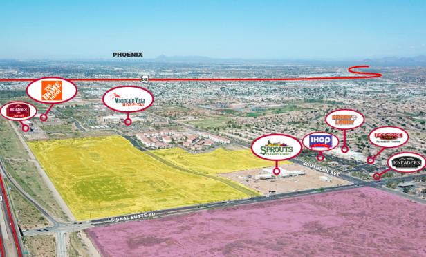 70-Acre Development Site in Mesa Sells