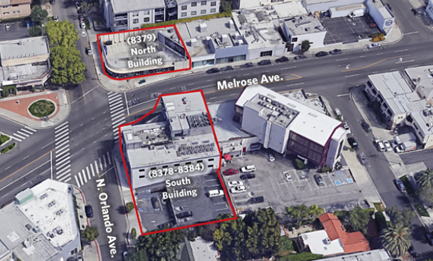 Sterling Buys Two Melrose Retail Shops