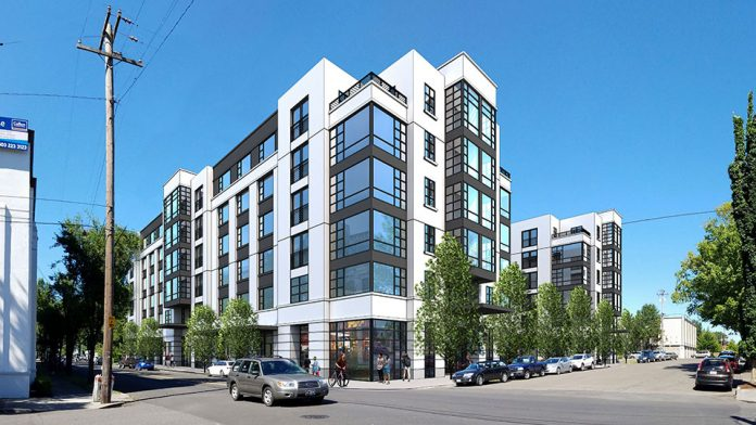 LMC Kicks-Off Leasing at 212-Unit Mixed-Use Denizen Apartment Community in Portland's Popular Kerns Neighborhood