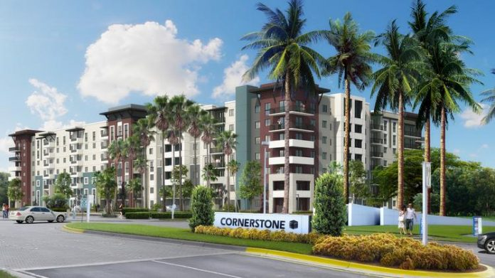 Mill Creek Announces Leasing Underway at 330-Unit Modera Cornerstone Apartment Community in Suburban Fort Lauderdale