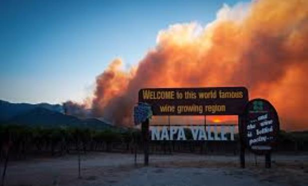Fires Take Aim at Napa Valley Once Again