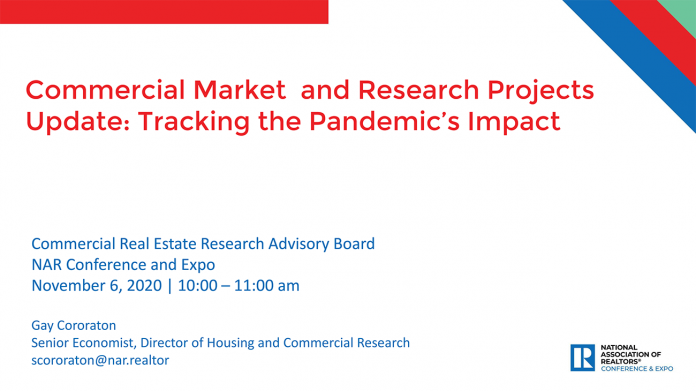 Commercial Market and Research Projects Update: Tracking the Pandemic's Impact