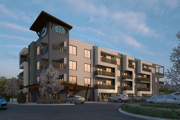 New 139-Unit Luxury Capitol Flats Mid-Rise Apartment Community Opens Near Famous Railyard District in Santa Fe, New Mexico
