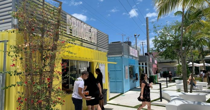 Second Life for Shipping Containers: Selling Bao Buns and Baked Goods