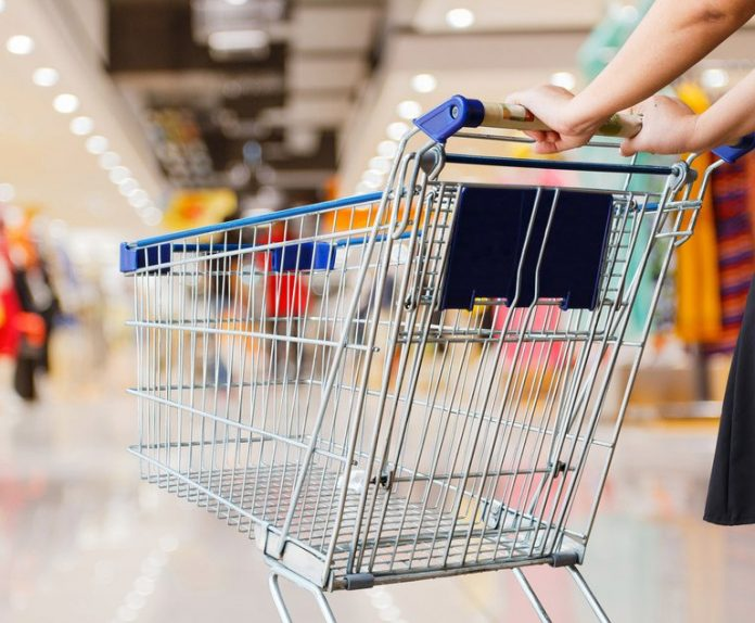 shopping cart in a store. Photo: pixfly/Shutterstock