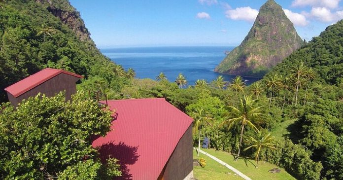 House Hunting on St. Lucia: Nestled in the Piton Mountains for $1.9 Million