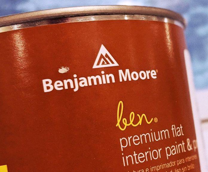 Benjamin Moore can